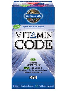 Vitamin Code Men's Formula from Garden of Life