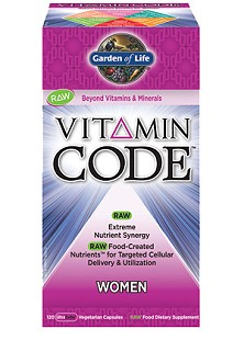 Vitamin Code Women's Formula from Garden of Life